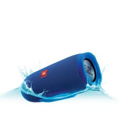 Bezdrôtové repro Prenosný reproduktor JBL Charge 3 modrý