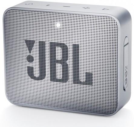 Bezdrôtové repro Prenosný reproduktor JBL Go 2 sivý