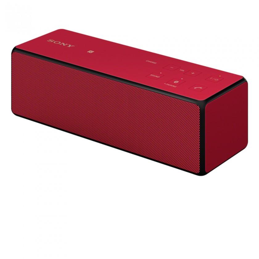 Bezdrôtové repro Sony SRS-X33R, červená (SRSX33R.EU8)