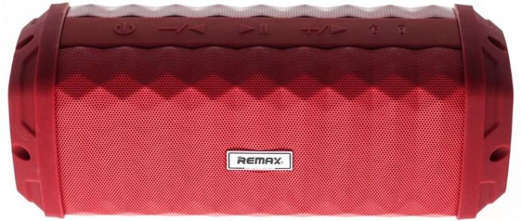 Bezdrôtové repro Voděodolný bluetooth reproduktor Remax RB-M12, červený