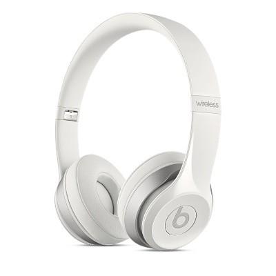 Bezdrôtové slúchadlá Beats Solo 2 Wireless, biela - MHNH2ZM/A