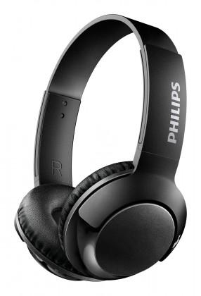 Bezdrôtové slúchadlá Bezdrôtové slúchadlá cez hlavu Philips SHB3075BK, čierna
