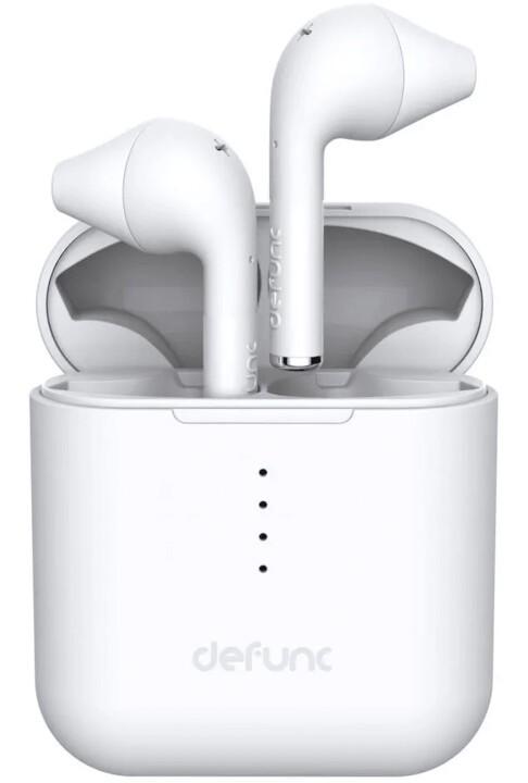 Bezdrôtové slúchadlá Bezdrôtové slúchadlá do uší DeFunc TRUE GO, biela