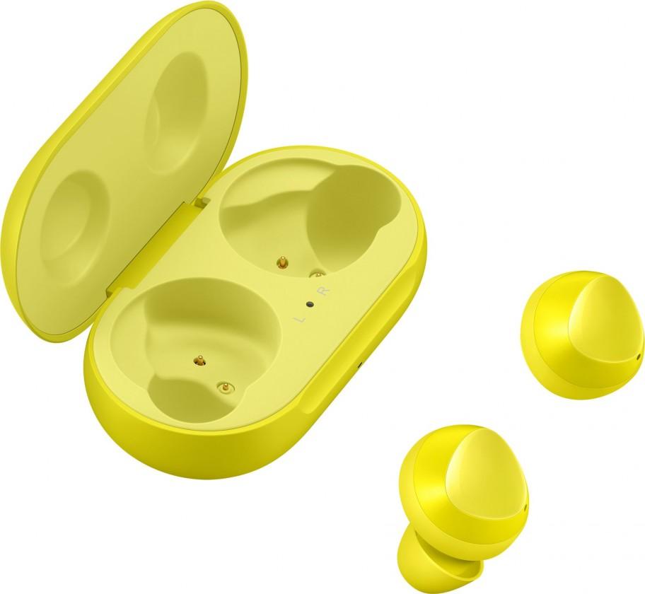 Bezdrôtové slúchadlá Bezdrôtové slúchadlá Samsung Galaxy Buds SM-R170, žltá