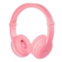 Bezdrôtové slúchadlá BuddyPhones Play, ružové