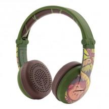 Bezdrôtové slúchadlá BuddyPhones Wave Monkey, zelené