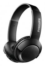 Bezdrôtové slúchadlá cez hlavu Philips SHB3075BK, čierna