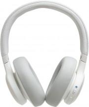 Bezdrôtové slúchadlá JBL LIVE 650BTNC, biele