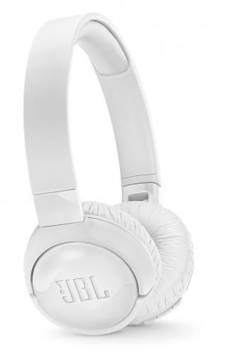 Bezdrôtové slúchadlá JBL Tune 600BTNC, biele.