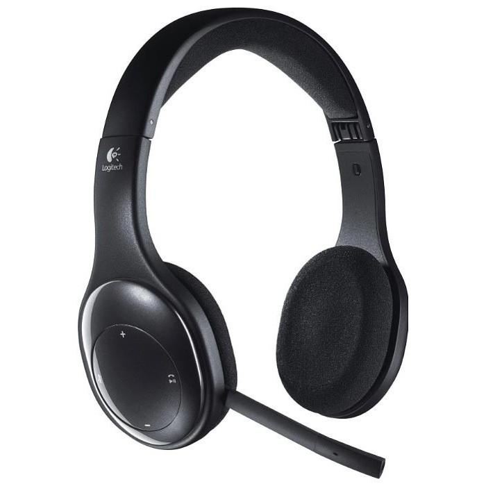 Bezdrôtové slúchadlá Logitech Wireless Headset H800, USB