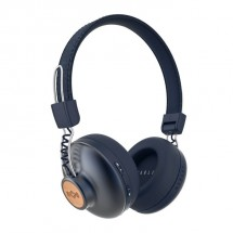 Bezdrôtové slúchadlá Marley Positive Vibration, modré