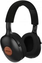 Bezdrôtové slúchadlá Marley Positive Vibration XL, čierne