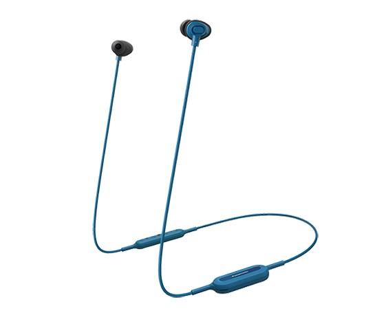 Bezdrôtové slúchadlá Panasonic RP-NJ310BE-A, modré