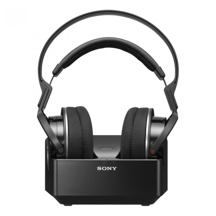 Bezdrôtové slúchadlá Slúchadla k TV Sony MDR-RF855RK, čierne