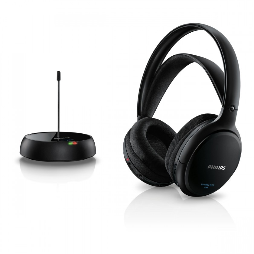 Bezdrôtové slúchadlá Sluchátka Philips SHC5200 (SHC5200/10) černá