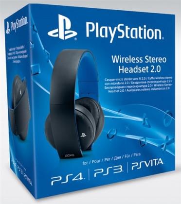 Bezdrôtové SONY PS4 Wireless Stereo 2.0 Boxed