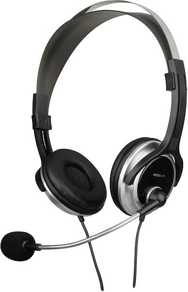 Bezdrôtové SpeedLink CHRONOS Headset, black-silver POUŽITÝ, NEOPOTREBOVANÝ