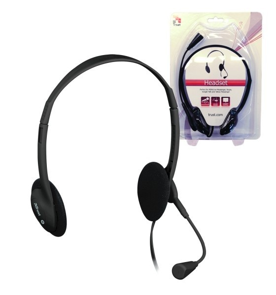 Bezdrôtové Trust Primo Headset - Black