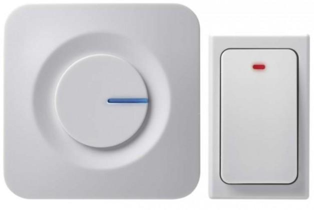 Bezdrôtové zvončeky Domový bezdrôtový zvonček Emos P5729, bezbatériové