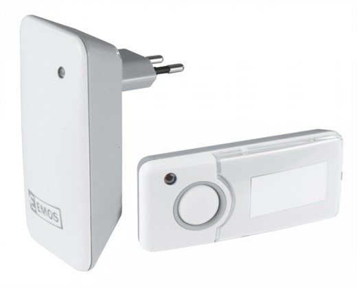 Bezdrôtové zvončeky Emos P5710G biely