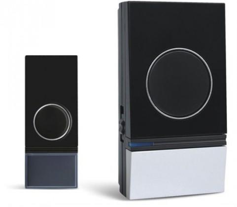 Bezdrôtové zvončeky Solight 1L29, bezdrôtový zvonček, 200m, čierny