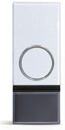 Bezdrôtové zvončeky Solight 1L92 bezdrôtové tlačidlo pre 1L28 a 1L29,200m,biele