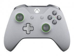 Bezdrôtový ovládač Microsoft XBOX ONE S Wireless, šedo-zelený