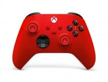 Bezdrôtový ovládač Xbox One Series, červený
