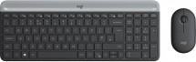 Bezdrôtový set Logitech MK470, klávesnica+myš, CZ/SK, šedá