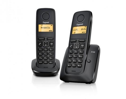Bezdrôtový telefón Siemens Gigaset A120 Duo