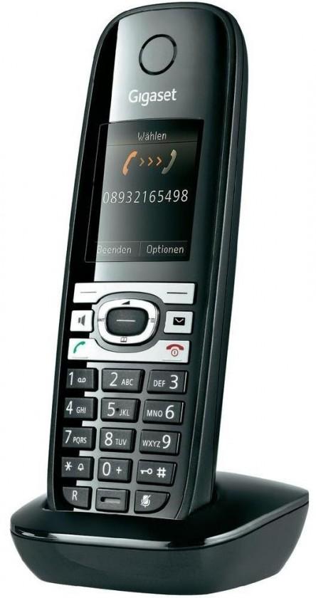 Bezdrôtový telefón Siemens Gigaset C610 Shiny Black ROZBALENO