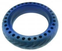 Bezdušová pneumatika pre eSkoter, modrá