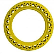 Bezdušová pneumatika pre Xiaomi Scooter, žltá