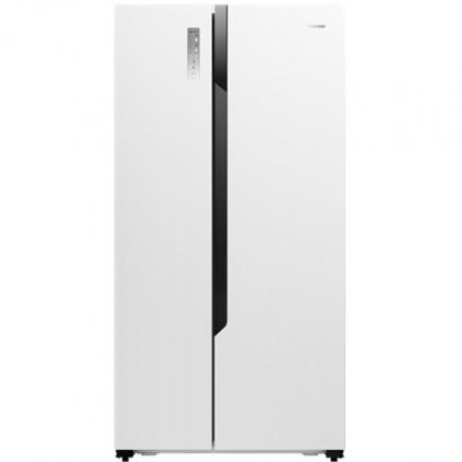 Biele americké chladničky Americká chladnička Hisense RS670N4HW1
