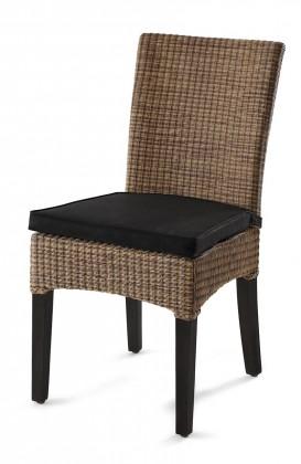 Bilbao - Jedálenská stolička (hnedá)