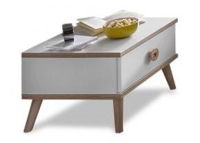 Billund - Nočný stolík (alpská biela, dub)