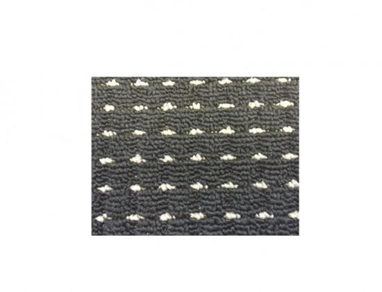 Birmingham - koberec, 110x60cm (100%PP, čierna)