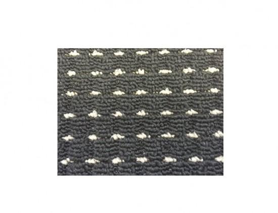 Birmingham - koberec, 150x80cm (100%PP, čierna)