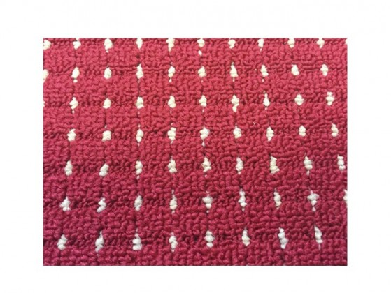 Birmingham - koberec, 170x120cm (100%PP, červená)