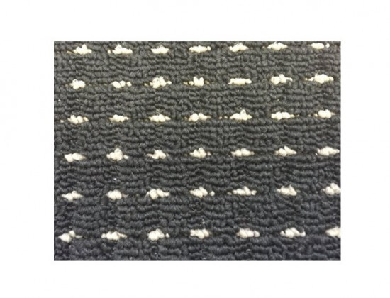 Birmingham - koberec, 170x120cm (100%PP, čierna)