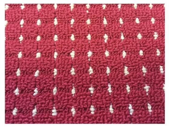 Birmingham - koberec, 240x160cm (100%PP, červená)