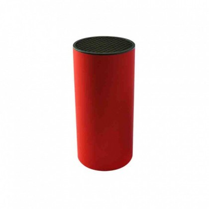 Blok na nože 263452 (plast,červená)