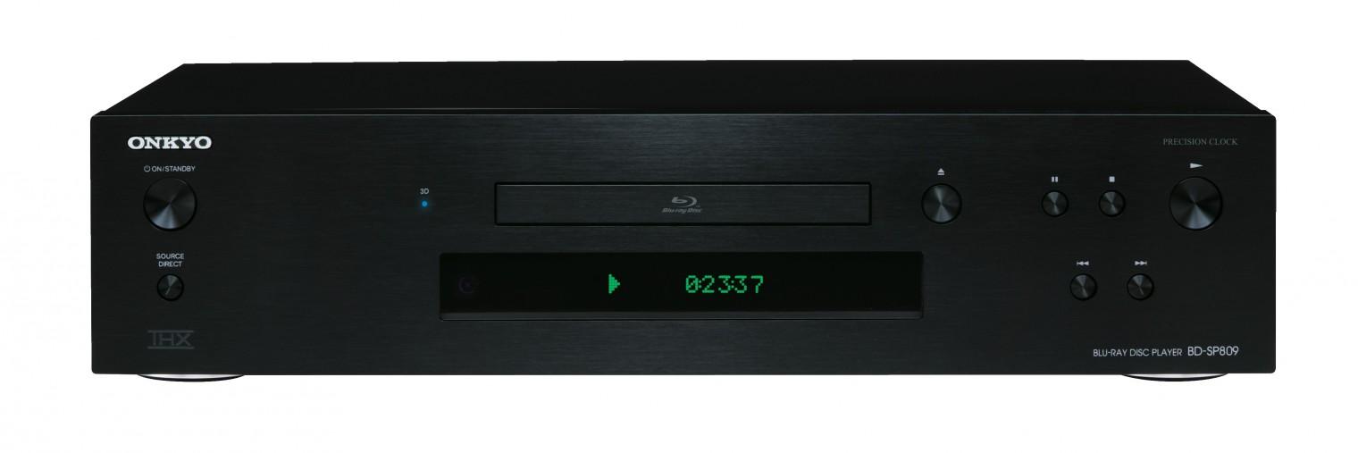 Blu-Ray prehrávače Onkyo BD-SP809 B ROZBALENÉ