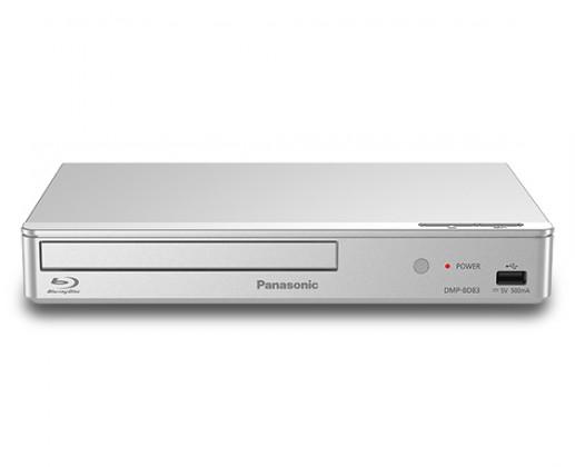Blu-Ray prehrávače Panasonic DMP-BD83EG-S strieborný