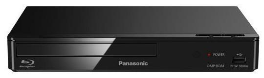 Blu-Ray prehrávače Panasonic DMP-BD84EG-K, čierny