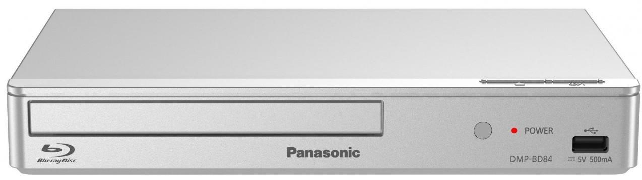 Blu-Ray prehrávače Panasonic DMP-BD84EG-S, strieborný