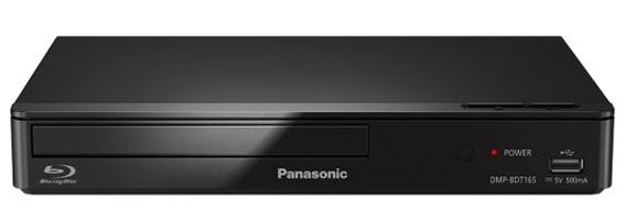 Blu-Ray prehrávače Panasonic DMP-BDT165EG čierny