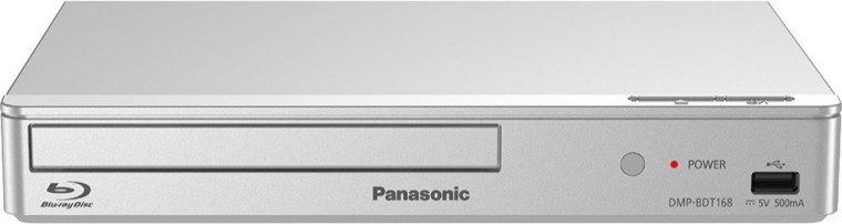 Blu-Ray prehrávače Panasonic DMP-BDT168EG, strieborný