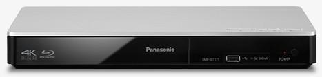 Blu-Ray prehrávače Panasonic DMP-BDT171EG strieborný