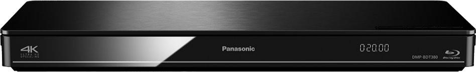Blu-Ray prehrávače Panasonic DMP-BDT380EG, čierny